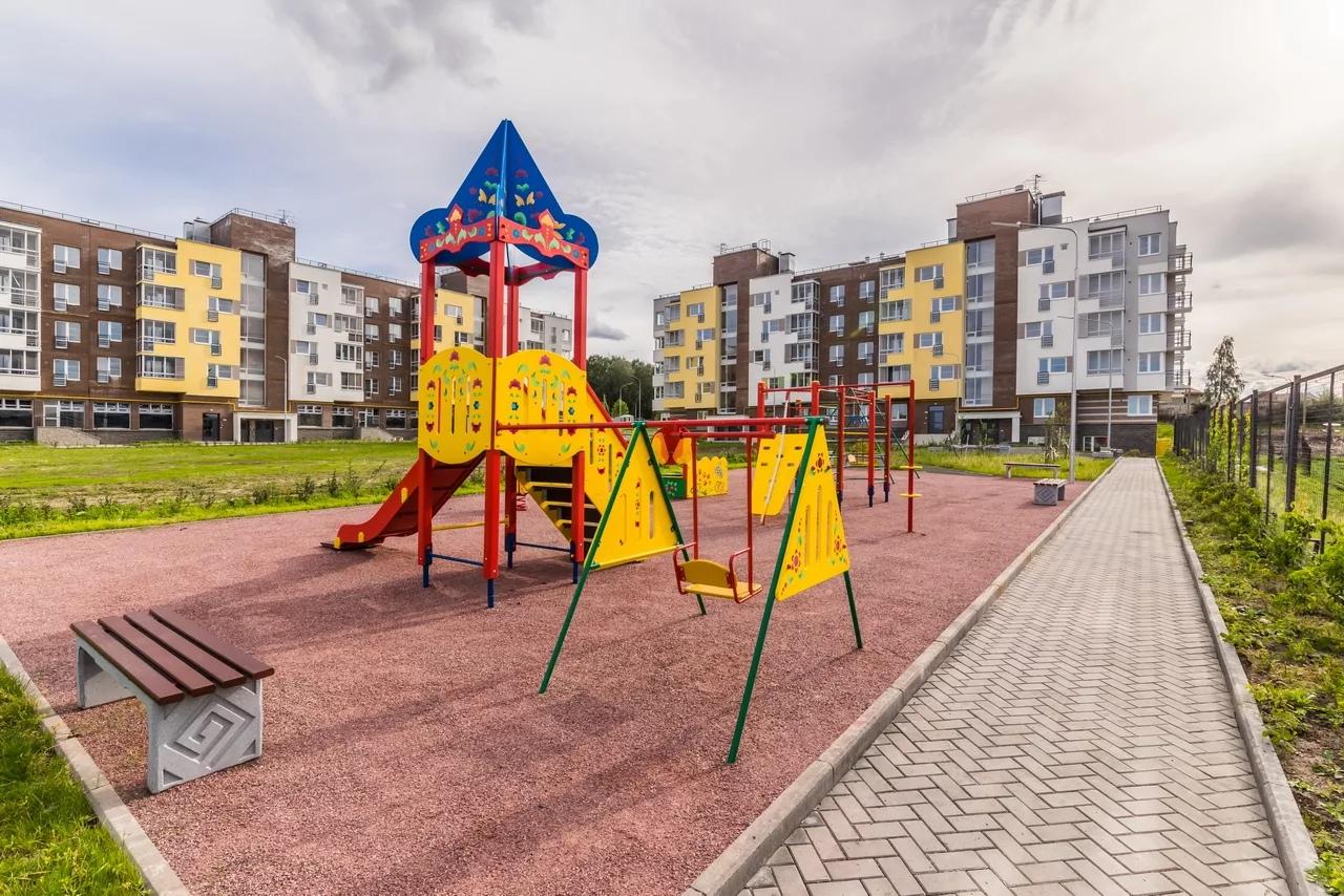 ЖК детская площадка